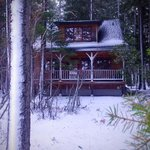 Trapper cabin - best accomodations with lake-front view.