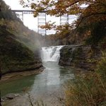 Nearby Letchworth state park
