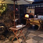 The Exmoor Beastro - Wood Fired oven in the courtyard garden