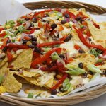 Loaded nachoes, packaed with flavour.