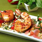 Fennel Dusted Shrimp & Scallops