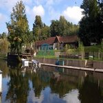 Beautiful waterside rural location, yet only minutes from train, tube, town and M25 jct17