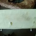 ratty ironing board cover