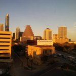 My view of Austin from the 6th floor on New Years Eve.