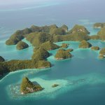 Seventy Islands from the helicoper