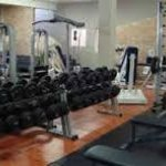 Gym facilities are open to guests for free