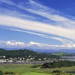 The view of Kippford from across the water