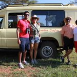 family with Simba travels.