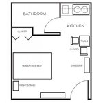 Studio Suite - Floor Plan