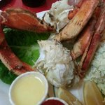 Cracked crab--served hot or cold but you have to ASK