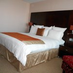 Bed, executive room