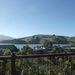 View of Akaroa from the Balcony