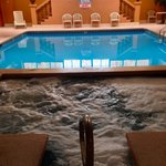 Indoor Jacuzzi and Pool Area (outdoor pool, too)