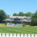 the oval and club house