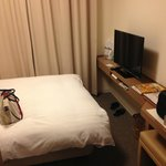 Our simple and well equipped room