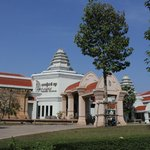 Facade of the pricey but disappointing Angkor National Museum