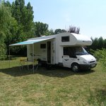 espace camping car - Camping Tournefeuille- Romorantin - Sologne