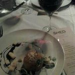 Rosotto(sp) and Pinot Noir
