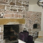 Fantastic Old Fireplace in the bedroom.