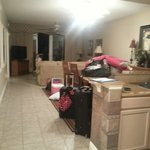 Enterance, full size kitchen, dinning room, living room w/2 full bath's and 3 bedrooms