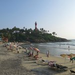 Kovalam beach, nearby