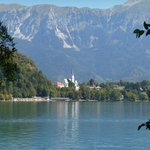 A view of Lake Bled