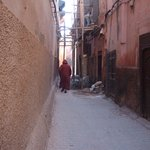 The alley outside the riad.