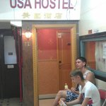 USA Hostel Hong Kong Foto