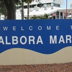 The entrance of d' Alboras Marinas