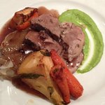 Lamb main course
