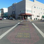 Love the street crossing on diagonal