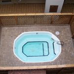 indoor hot tub, view from 3rd floor