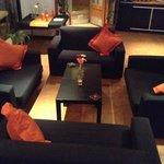 Enjoy a drink in our lounge area