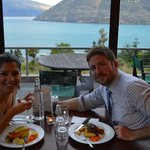 Looking Out Over Lake Wakatipu on New Year's Eve