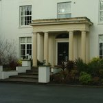 Fishmore Hall Hotel entrance
