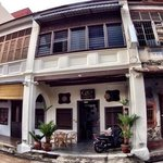Guest house converted from old shophouse.
