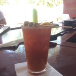 Ive's deliciously spicy Bloody Mary