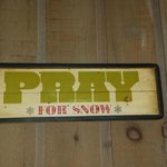 In Vermont, you always pray for snow!