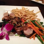 Pork Medallions and Truffle Fries!