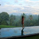 Early Morning at Bali Jiwa Villa in January