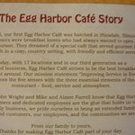 The Egg Harbor Cafe Story