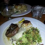 Surf and Turf Entree at Red Fox Inn