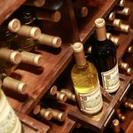 Wine Rack in Retail Store