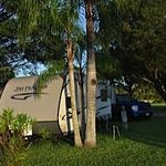 My campsite at Miami Everglades