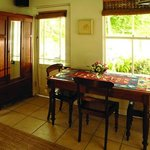 Dining room in cottage