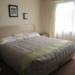 King bed in the main bedroom – very large and comfortable!