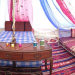 Indian glamping tent
