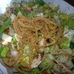 I ordered their Beverly Hills chop chop salad picked it up easily and brought it back to w