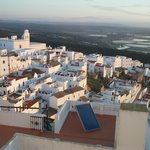 Fabulous views over Vejer at sunrise and sunset