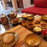 Breakfast at Riad Louaya